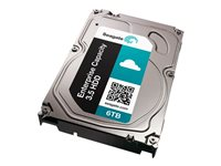 "Seagate Enterprise Capacity 3.5 HDD V.4 ST6000NM0084 - Disque dur - chiffré - 6 To - interne - 3.5"" - SATA 6Gb/s - 7200 tours/min - mémoire tampon : 128 Mo - FIPS 140-2 Level 2 - Self-Encrypting Drive (SED) ST6000NM0084"