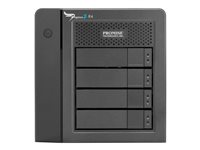 Promise Pegasus2 R4 - Baie de disques - 12 To - 4 Baies - 4 x HDD 3 To - Thunderbolt 2 (externe) HJCD2ZM/A
