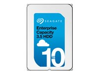 "Seagate Exos X10 ST10000NM0086 - Disque dur - 10 To - interne - 3.5"" - SATA 6Gb/s - 7200 tours/min - mémoire tampon : 256 Mo ST10000NM0086"