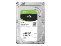 "Seagate Barracuda ST2000DM006 - Disque dur - 2 To - interne - 3.5"" - SATA 6Gb/s - 7200 tours/min - mémoire tampon : 64 Mo ST2000DM006"