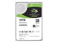 "Seagate Barracuda Pro ST10000DM0004 - Disque dur - 10 To - interne - 3.5"" - SATA 6Gb/s - 7200 tours/min - mémoire tampon : 256 Mo ST10000DM0004"